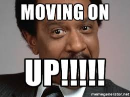 Moving On Up Meme - moving on up the group w bench