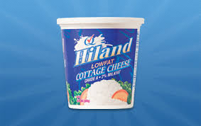 Cottage Cheese Low Fat by Hiland Dairy Products Cottage Cheese Lowfat Small Curd