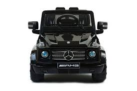 jeep mercedes mercedes g55 amg suv licensed 12v electric kids ride on jeep