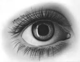 a drawing of an eye roadrunnersae