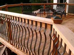 some good ideas for homeowners of the best deck railing designs