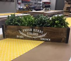 herb planter boxes herb planter box 6x24 limited project availability check with