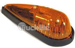 truck lite marker lights cab marker light yellow 26765y truck lite