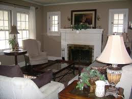 fine living room furniture layout with fireplace decoration in