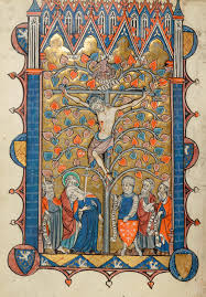 crucifixion psalter hours france amiens between 1280 and