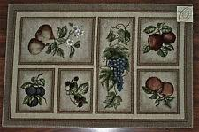Fruit Kitchen Rugs Kitchen Rugs With Grapes Roselawnlutheran