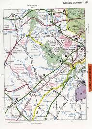 Baltimore City Map Baltimore Highway Map