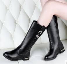 womens flat black boots size 12 boots digital picture more detailed picture about 2015