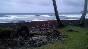 Where Is The Black Sand Beach Close Quarters Black Sand Cold Springs Dominica