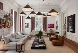 Brown Fabric Sofa Set Living Room Lighting Fixtures White Fabric Arms Sofa Sets With