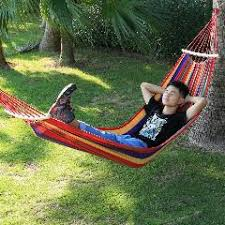 new portable water resistant canvas trapeze survival hammock swing
