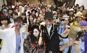 halloween in mexico even minus treats japan u0027s halloween now a 330 million frenzy