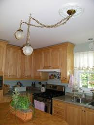 Lights For Over Kitchen Island by Kitchen Lighting Over Table Pyramid Silver Cottage Bamboo Beige