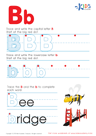 letter b worksheets for kindergarten pdf uppercase letter b maze