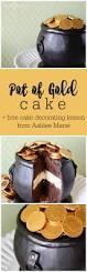 st patrick u0027s day pot of gold cake by topsy turvy