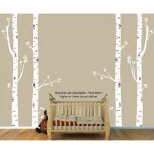 Nursery Tree Stickers For Walls Decals And Large Tree Wall Decals For Nurseries