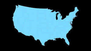 louisiana map in usa louisiana animated map starts with light blue usa national