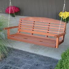 a u0026amp l furniture western red cedar classic curved back porch