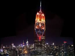 empire state building lights tonight goddess kali showcased on the empire state building in nyc and