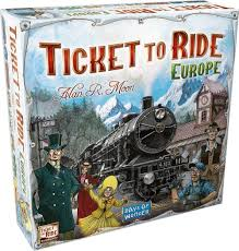 Asia Map Games by Amazon Com Ticket To Ride Europe Game Toys U0026 Games