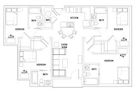 floor plans plaza on university student housing orlando fl