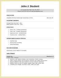 Sample Resume Design by How To Write Resume For High Students Http Www