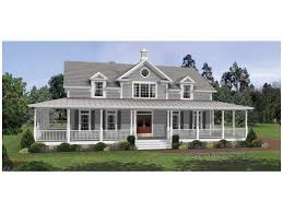 one story wrap around porch house plans irresistible wraparound porch hwbdo12135 colonial from