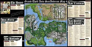 San Andreas Map All Sizes Gta San Andreas Game Map Plus Flickr Photo Sharing