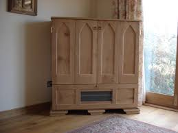 Tv Media Cabinets With Doors Furniture Black Painted Oak Wood Corner Tv Cabinet With Modern