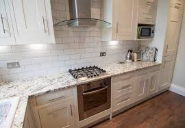 Antique Cream Kitchen Cabinets Antique Cream Granite Kitchen Worktops With White Cabinets And
