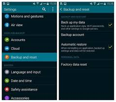 how to reset android how to factory reset the galaxy s5 for better performance androidpit
