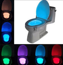 automatic night light with sensor led body motion sensing automatic toilet night light sensor glowing