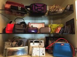 closet purse organizer u2014 steveb interior best closet purse