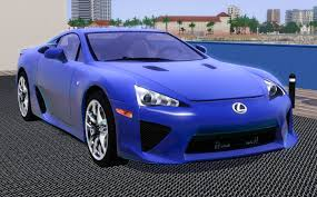 lexus electric supercar fresh prince creations sims 3 2011 lexus lfa