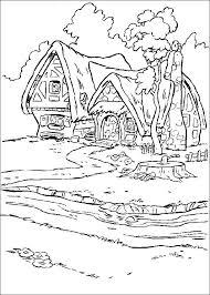coloring pages snow white dwarfs picture 16