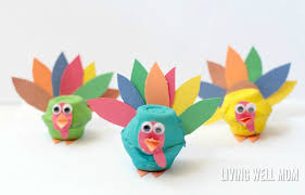 egg turkeys craft