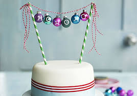 Simple Christmas Cake Decorations To Make by Homemade Christmas Decoration Ideas Bbc Good Food