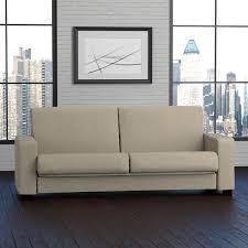 handy living tempo convert a couch barley tan linen futon sleeper
