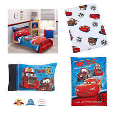 Disney Cars Bedroom Set by Disney Pixar Cars Go Team 4pc Toddler Bedding Set Blanket Pillow