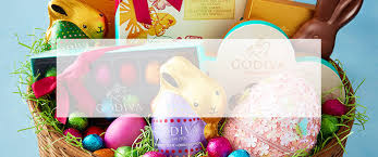 easter gift basket easter chocolate gifts godiva