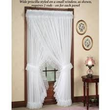 vickie u0027s ruffled curtains curtains and drapes pinterest