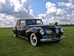 the great 28 car 1 u20131940 41 lincoln continental cabriolet the