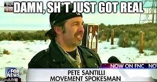 Shit Just Got Real Meme - image 60 dildonian meme pete santilli movement spokesman fox