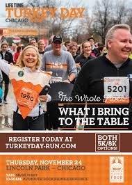 39th annual turkey day run chicago 5k 8k lincoln park chamber of