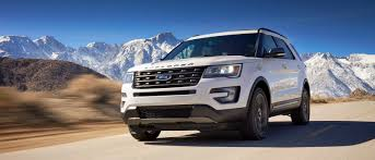 ford explorer trim select from a range of 2017 ford explorer trim levels