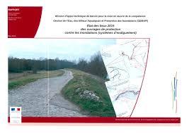 Protection Porte Inondation by état Des Lieux 2015 Des Ouvrages De Protection Contre Les