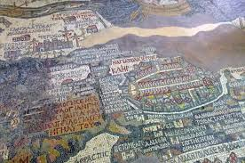 Mosaic District Map Trekking To Petra Journeys International