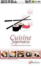 cuisine japonaise santé bonjour appli cuisine japonaiseandroid mt