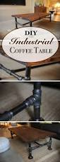 Industrial Coffee Table Diy 15 Creative Diy Coffee Table Ideas You Can Build Yourself Homelovr