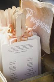 how to make your own wedding programs best 25 fan wedding programs ideas on fan programs